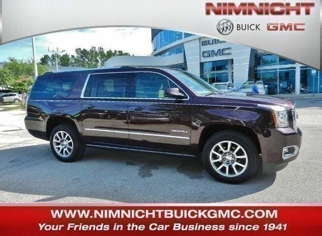 Gmc Yukon Xl Denali >> New 2017 Gmc Yukon Xl For Sale Jacksonville Fl 284717t