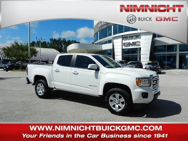 new 2017 gmc canyon 2wd sle crew cab pickup in jacksonville 273278t nimnicht buick gmc. Black Bedroom Furniture Sets. Home Design Ideas
