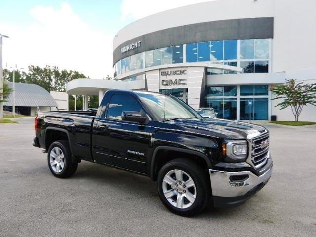New 2018 Gmc Sierra 1500 Sle Regular Cab Pickup In Jacksonville 105216t Nimnicht Buick Gmc