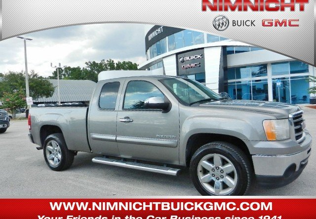 2013 Gmc Sierra For Sale >> Pre Owned 2013 Gmc Sierra 1500 Sle Rwd Extended Cab Pickup