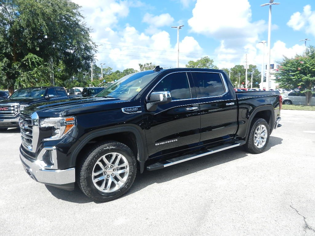 New 2019 Gmc Sierra 1500 Slt 4wd Crew Cab 147 In Jacksonville Dual Battery Kit