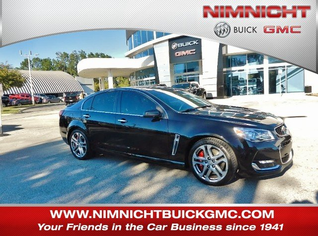 Certified Pre-Owned 2017 Chevrolet SS Base