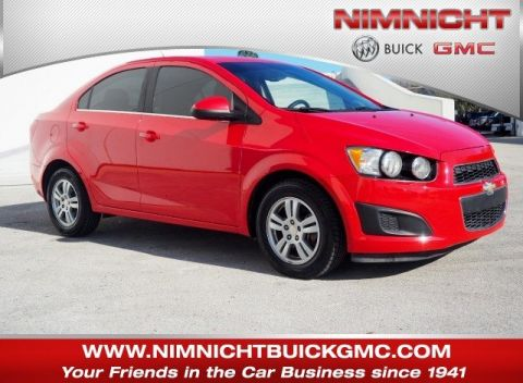 Certified Pre-Owned 2016 Chevrolet Sonic LT