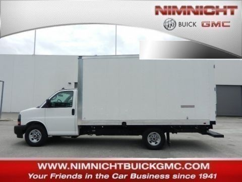 New 2018 GMC Savana Commercial Cutaway Work Van