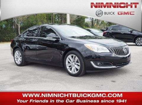 Pre-Owned 2016 Buick Regal EBONY LTHR